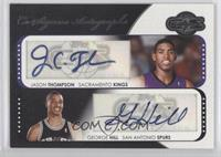 Jason Thompson, Gene Gillette, George Hill /240