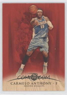 2008-09 Topps Hardwood - [Base] - Redwood Wood #38 - Carmelo Anthony /15