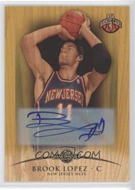 2008-09 Topps Hardwood Rookie Signatures Maple Wood [Autographed] #110 - Brook Lopez /19