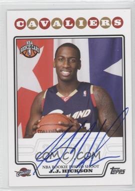 2008-09 Topps Rookie Premiere Certified Autographs #RP-JJH - J.J. Hickson