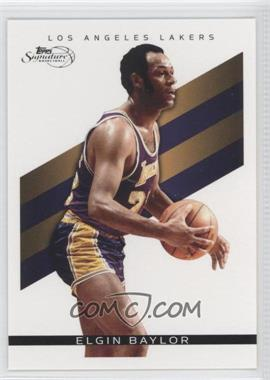 2008-09 Topps Signature - [Base] #TS-EB - Elgin Baylor /2325