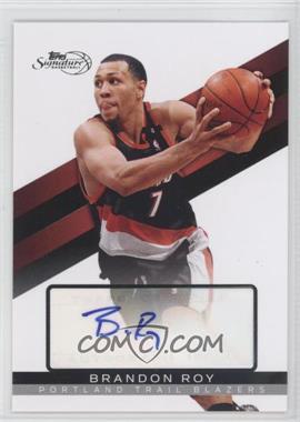 2008-09 Topps Signature Autograph [Autographed] #TSA-BR - Brandon Roy /649