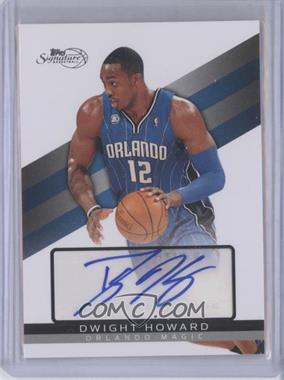 2008-09 Topps Signature Autograph [Autographed] #TSA-DH - Dwight Howard /2499