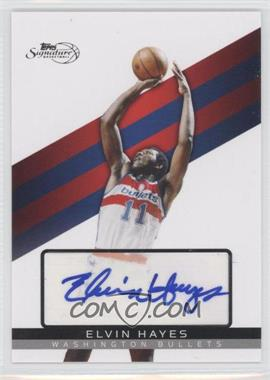 2008-09 Topps Signature Autograph [Autographed] #TSA-EH - Elvin Hayes /625
