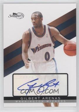 2008-09 Topps Signature Autograph [Autographed] #TSA-GA - Gilbert Arenas /1199
