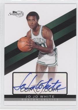 2008-09 Topps Signature Autograph [Autographed] #TSA-JJW - Jo Jo White /989