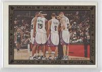 Mikki Moore, Shelden Williams, Quincy Douby, Francisco Garcia, Reggie Theus