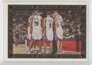 2008-09 Topps T-51 Murad Checklists #16 - Mikki Moore, Shelden Williams, Quincy Douby, Francisco Garcia, Reggie Theus