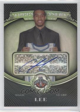 2008-09 Topps Treasury Rookie Refractor Autographs #133 - Courtney Lee