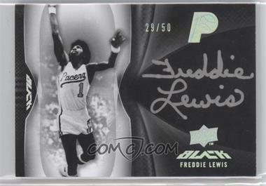 2008-09 UD Black Autographs [Autographed] #A2-FL - Freddie Lewis /50