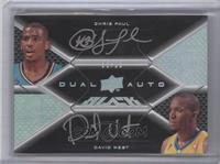 Chris Paul, David West /15