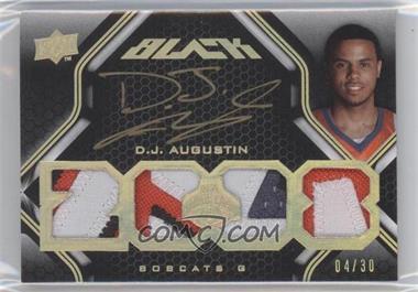 2008-09 UD Black Gold #50 - D.J. Augustin