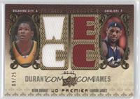 Kevin Durant, Lebron James /25