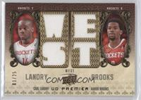Carl Landry, Aaron Brooks /25