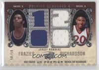Walt Frazier, Michael Ray Richardson /50