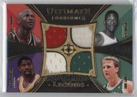 Michael Jordan, Bill Russell, Magic Johnson, Larry Bird /25