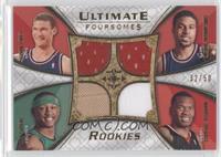 Brook Lopez, Chris Douglas-Roberts, J.R. Giddens, Marreese Speights /50