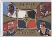 Nene, Udonis Haslem, Mike Dunleavy, Jarvis Hayes /50
