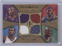 Kobe Bryant, Lebron James, Kevin Durant, Kevin Garnett /50