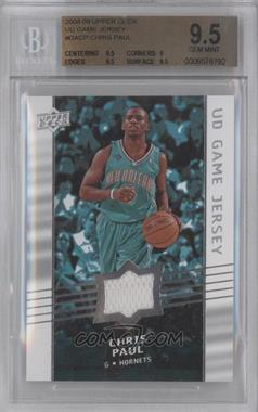 2008-09 Upper Deck - UD Game Jersey #GA-CP - Chris Paul [BGS 9.5]
