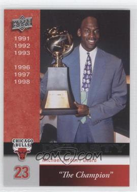 2008-09 Upper Deck Chicago Bulls Dynasty #CHI-13 - Michael Jordan