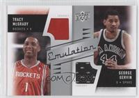 Tracy McGrady, George Gervin