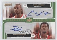 Carl Landry, Aaron Brooks