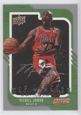 2008-09 Upper Deck MVP Silver Script #245 - Michael Jordan