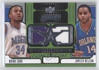 Brian Cook, Jameer Nelson