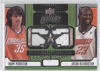 Adam Morrison, Jason Richardson
