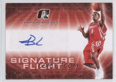 2008-09 Upper Deck Radiance Signature Flight [Autographed] #SF-AB - Aaron Brooks