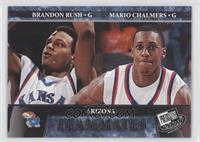Brandon Rush, Mario Chalmers