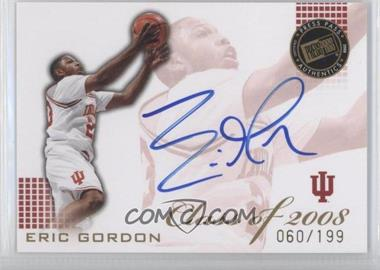 2008 Press Pass - Class of 2008 - Autographs [Autographed] #CL-EG - Eric Gordon /199