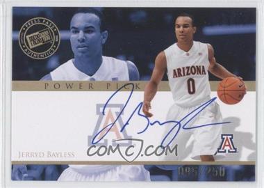 2008 Press Pass - Power Pick Autographs #PP-JB - Jerryd Bayless /250