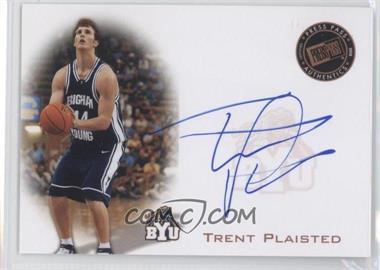 2008 Press Pass - Press Pass Signings - Bronze #PPS-TP - Trent Plaisted