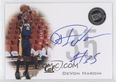 2008 Press Pass - Press Pass Signings - Silver #PPS-DH - DeVon Hardin /199