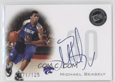 2008 Press Pass - Press Pass Signings - Silver #PPS-MB - Michael Beasley /125