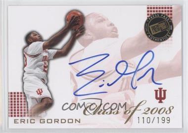 2008 Press Pass Class of 2008 Autographs [Autographed] #CL-EG - Eric Gordon /199