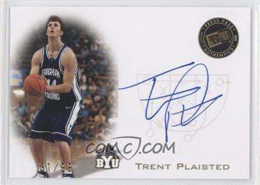 2008 Press Pass Press Pass Signings Gold #PPS-TP - Trent Plaisted /99