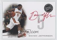 Davon Jefferson (Red Ink) /199