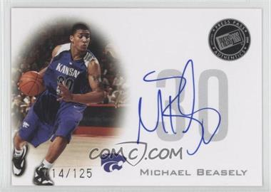 2008 Press Pass Press Pass Signings Silver #PPS-MB - Michael Beasley /125