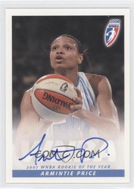 2008 Rittenhouse WNBA - Autographs #ARPR - Armintie Price
