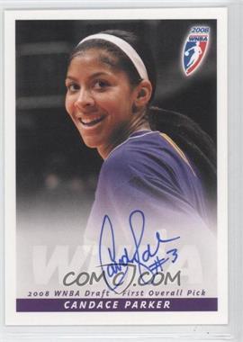 2008 Rittenhouse WNBA - Autographs #CAPA - Candace Parker
