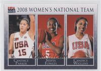 Candace Parker, Candice Wiggins /667