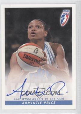 2008 Rittenhouse WNBA Autographs #ARPR - Armintie Price