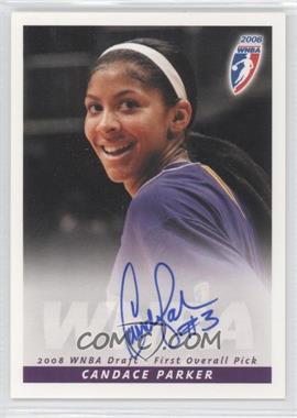 2008 Rittenhouse WNBA Autographs #N/A - Candace Parker
