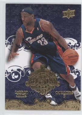 2008 Upper Deck NBA All-Stars New Orleans #AS3 - Lebron James