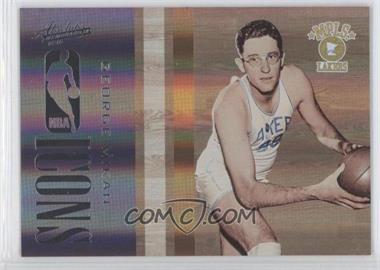 2009-10 Absolute Memorabilia - NBA Icons - Spectrum #10 - George Mikan /100
