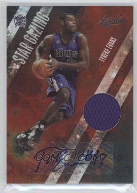 2009-10 Absolute Memorabilia Star Gazing Signature Materials #4 - Tyreke Evans /25