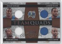 Rashard Lewis, Vince Carter, Dwight Howard, Jameer Nelson /100